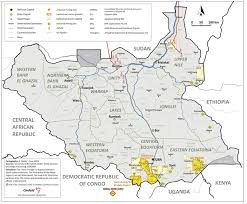 Map Of Sudan Ei Sourcebook Maps And Links