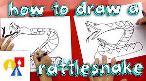 how to draw a rattlesnake youtube