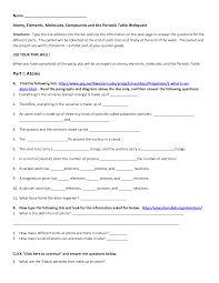 periodic table packet 1 answer key new periodic table packet 1 worksheet answers