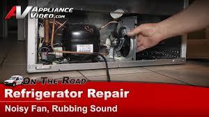 Frigidaire Electrolux Refrigerator Repair Noisy Fan Rubbing