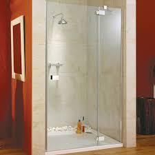 Lakes Shower Door Brilliant Hinged Shower Door Glass Panel Right 1400x1950mm