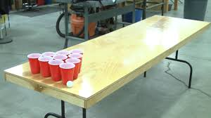 build a beer pong table diy beer pong table woodworking pinterest beer pong tables