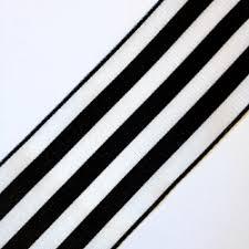 black and white striped ribbon ribbons striped taffeta black and white ribbon 1 1 2 inch