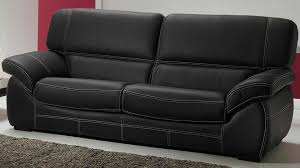 canapé cuir 2 places but canapé convertible en cuir 3 places génial salon cuir 5 places noir