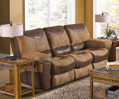 Power Reclining Sofa And Loveseat by Portman 2 Piece Power Reclining Sofa Loveseat Set In Two Tone