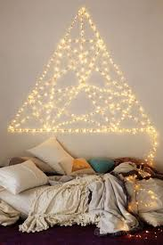 How To Hang String Lights In Bedroom Bedroom Thestdroom Lights Ideas On Pinterest Awesome
