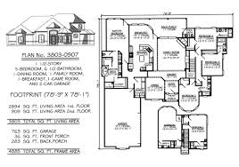 5 Bedroom 4 Bathroom House Plans by 5 Bedroom To Estate Under 4500 Sq Ft