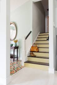 polka dot mustard stair riser decal u2014 mirth studio