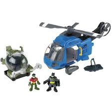 imaginext batman helicopter gift toys