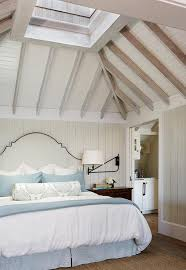 Beach Cottage Bedroom by Beach Cottage Bedroom With Vaulted Skylight Ceiling Cottage
