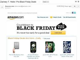 amazon black friday hours always be dealing amazon email review