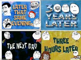 Meme Card Generator - ragegenerator rage comic derpy spongebob time cards