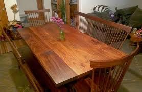 Shaker Dining Room Furniture Solid Walnut