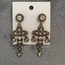 hm earrings 38 h m jewelry h m gold cross earrings from layan s closet