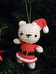 Amigurumi Christmas Ornaments - 89 best amigurumi navidad images on pinterest crochet christmas
