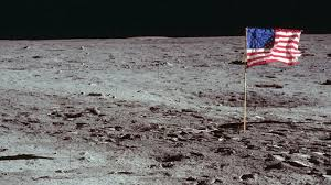Flag With Tree And Moon President Trump Officially Wants To Send Nasa Back To The Moon