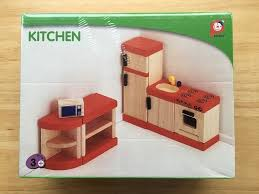 Doll House Furniture Bnib Pintoy John Crane Doll House Furniture Kitchen In