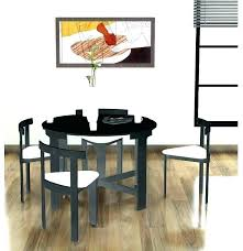 Space Saver Dining Table And Chair Set Space Saving Table And Chairs Smart Space Saving Table