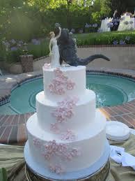 godzilla cake topper godzilla wedding cake with pink fondant flowers godzilla
