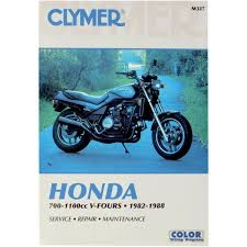 amazon com clymer repair manual for honda vf700 1100 v fours 82