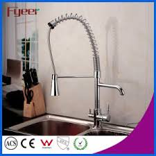 Water Filter For Pull Out Faucet China Fyeer Pull Out Spray Kitchen Faucet With Water Flow Filter