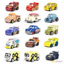 cars characters yellow disney pixar cars 3 mini racers new characters choose your