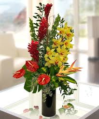 s day floral arrangements valentines tropical flowers tropical flower arrangements for