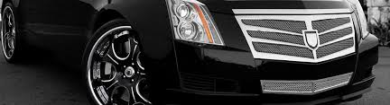 cadillac cts custom paint 2010 cadillac cts custom grilles billet mesh led chrome black