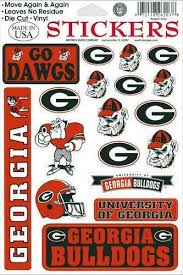 uga alumni sticker bulldogs stickers ebay