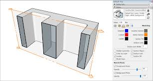 slicing a model to peer inside sketchup knowledge base a section cut can show empty space where the real life object would be solid