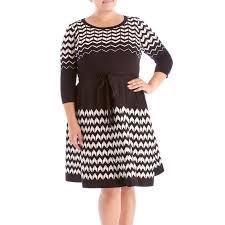 plus size a line sweater dress with tie waist 276634578