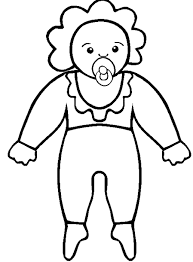 dolls coloring pages