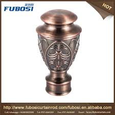 Decorative Curtain Finials Sale Home Decorative Curtain Rod End Caps Curtain Rod Finials