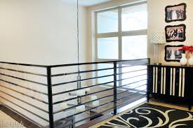 Metal Banisters Diy With Style How To Child Proof Horizontal Railings Blue I Style