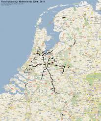 The Netherlands Map Nl The Netherlands Road Infrastructure U2022 Autosnelwegen