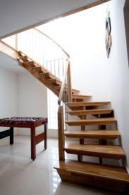 mesmerizing wooden stepladder with simple staircase design also