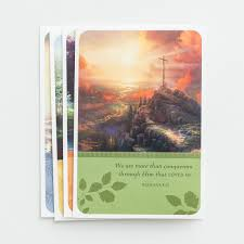 boxed cards boxed cards kinkade 12 cards ruby apple
