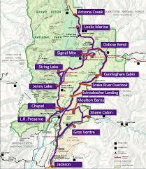 grand national park map gtnp maps best of the tetons