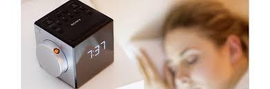 clock radio with time projector icf c1pj sony us