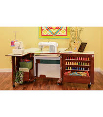 sewing tables cabinets u0026 chairs sewing furniture joann