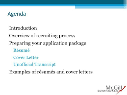 mcgill cover letter cover letter writing guide mcgill the caps