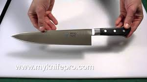 best professional kitchen knives mac mighty chef u0027s knife open box preview youtube