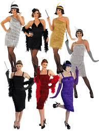 ladies flapper costume 20s fancy dress hub