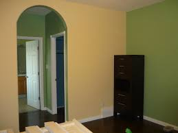 Buttered Yam Benjamin Moore The Master Suite You Can See The Feature Wall In Seedling Main