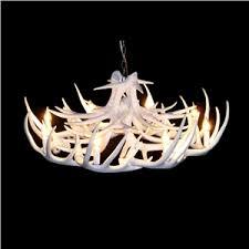 Antlers Lighting Chandelier Faux Deer Antler Chandelier Modern Rustic Chandeliers Homelava