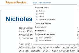 Profile Sample Resume by Careers 2 0 Export And Apply With Your Profile Stack Overflow Blog