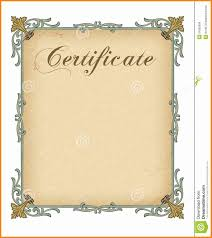 Participation Certificate Templates Free Download 6 Blank Certificate Backgrounds Free Download Cashier Resumes