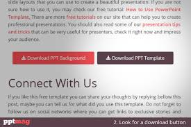 how to use powerpoint templates pptmag