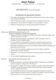 Example Resume For Job Application by College Application Letter Examples Of Unsolicited Application