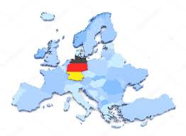 germany europe map europe map germany with flag stock photo klenger 90697162